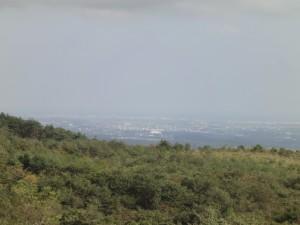 泉ヶ岳から仙台市泉方面(ズームx5)
