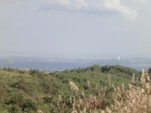 泉ヶ岳から仙台市中心部方向(ズームx5)