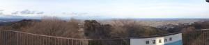 四方山展望台から仙台-太平洋(スイングモード)